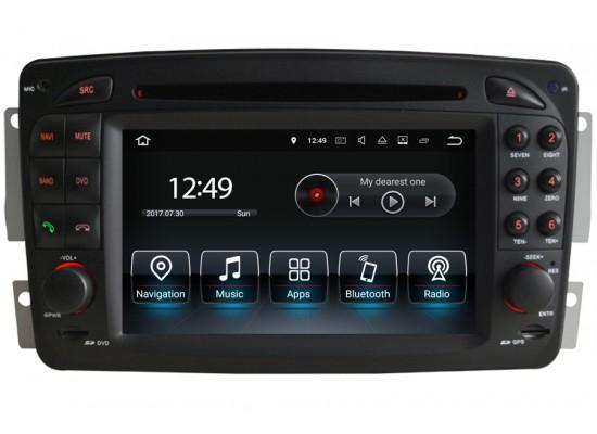 Mercedes-Benz A/C/CLK/E/G/M/ML/S Android Head Unit