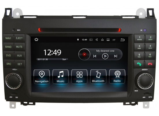 Mercedes-Benz A/B/Viano und Vito/Sprinter/Crafter Android Head Unit