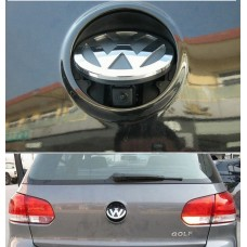 VW logo flip rear view camera with RGB output