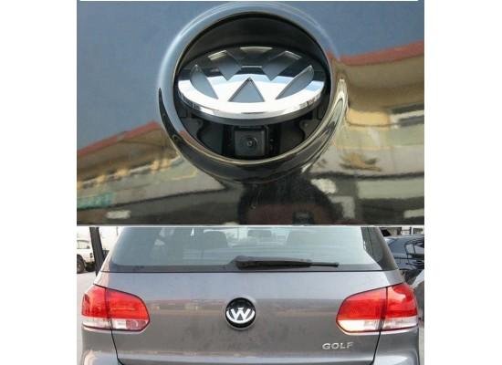 VW logo flip rear view camera with RGB output
