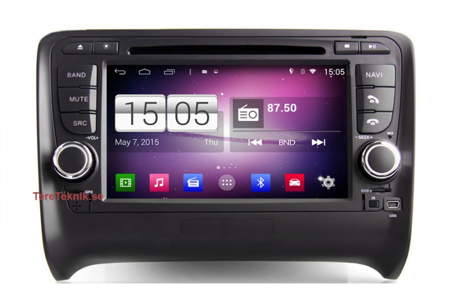 audi tt 2006 2010 android car multimedia system. Black Bedroom Furniture Sets. Home Design Ideas