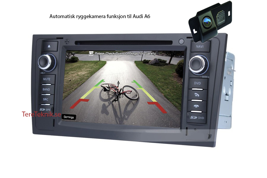 AUDI A6, S6, RS6 Android 4 4 multimedia car stereo (free frakt)
