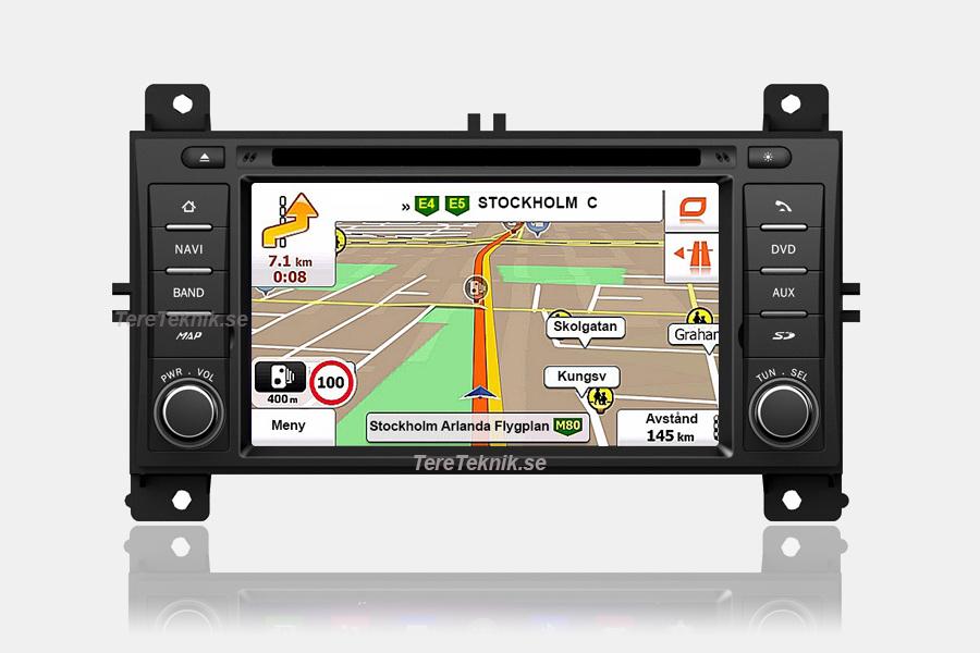 gps kart europa Jeep Grand Cherokee / Chrysler Town & Country Android bilstereo  gps kart europa