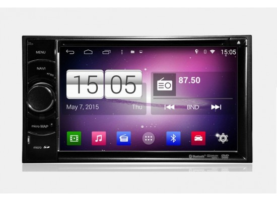 2DIN universal Android bilstereo GPS/DVD/Radio