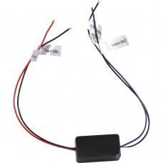 Capacitor for after market backup cameras
